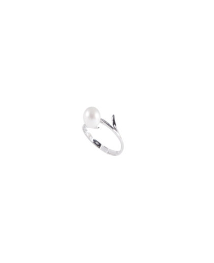anello perle e diamanti an 106