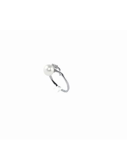 anello perle e diamanti an105