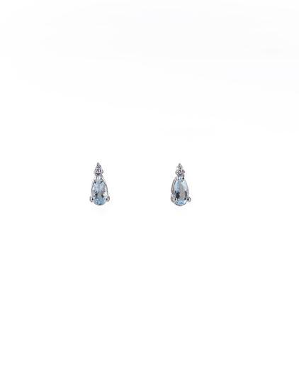 orecchini acquamarina e diamanti oram1