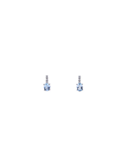 orecchini acquamarina e diamanti oram12