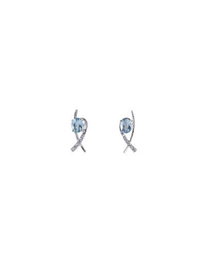 orecchini acquamarina e diamanti oram4