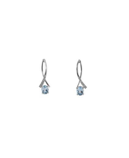 orecchini acquamarina e diamanti oram5