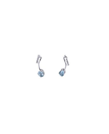 orecchini acquamarina e diamanti oram6