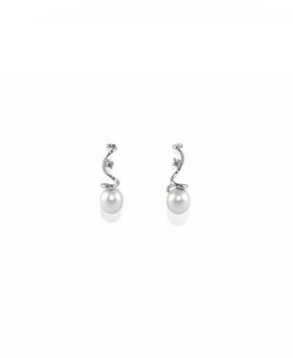 orecchini perle e diamanti or 104