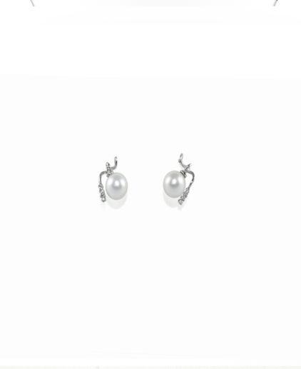 orecchini perle e diamanti or 105