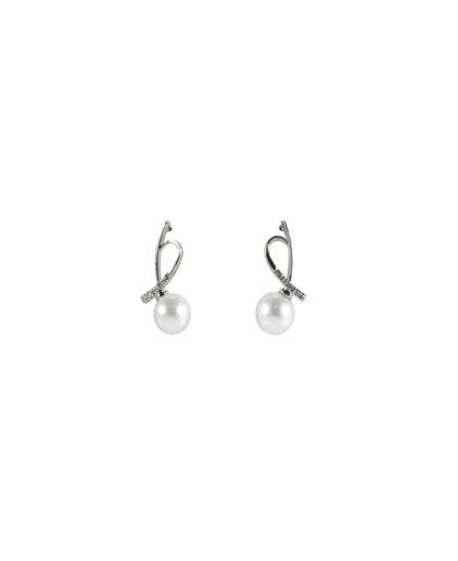 orecchini perle e diamanti or 107
