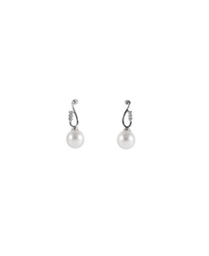 orecchini perle e diamanti or 108