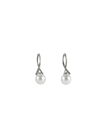 orecchini perle e diamanti or 110