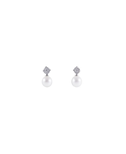 orecchini perle e diamanti or 112