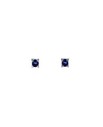 orecchini puntoluce zaffiri orz002