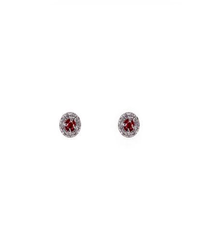 orecchini rubini e diamanti  orf01r-02-03