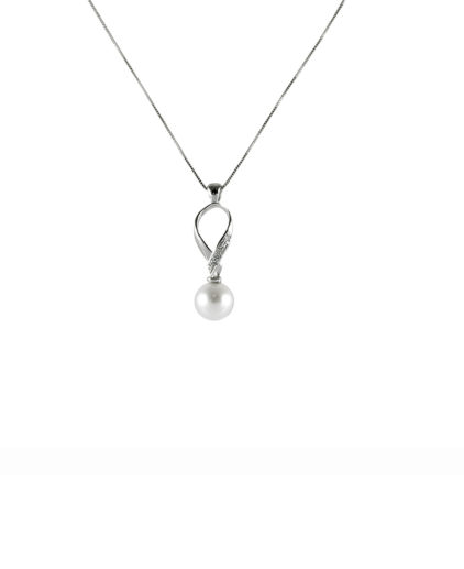 pe111pendente perle e diamanti