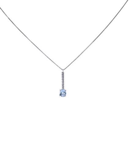 pendente acquamarina e diamanti peam14