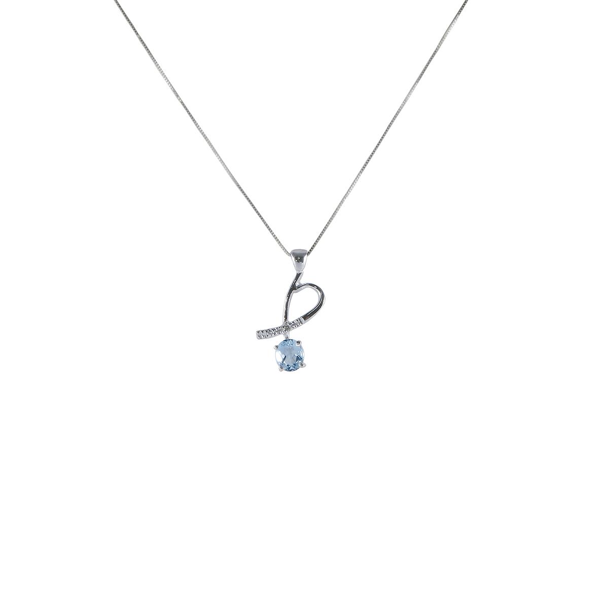 pendente acquamarina e diamanti peam4