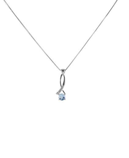 pendente acquamarina e diamanti peam5