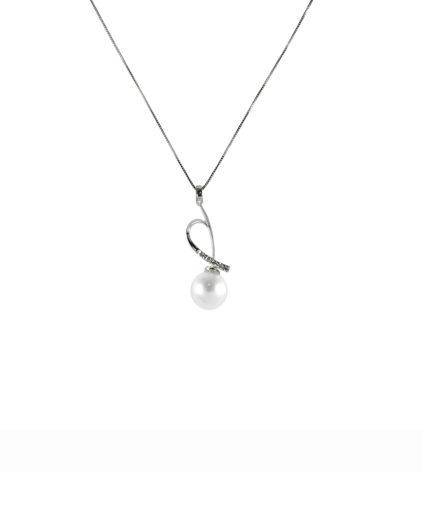 pendente perle e diamanti pe107