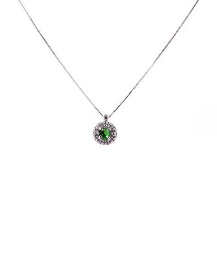 pendente smeraldo e diamanti plf01s-02-03