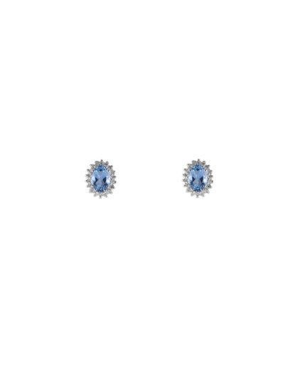 orecchini acquamarina e diamanti oram10-11
