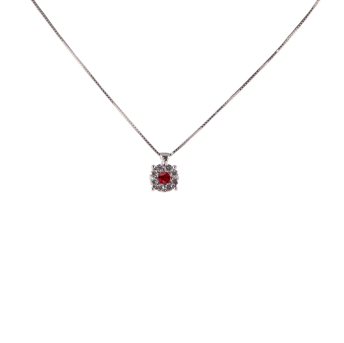 pendente rubino e diamanti  plf04r-05-06-07