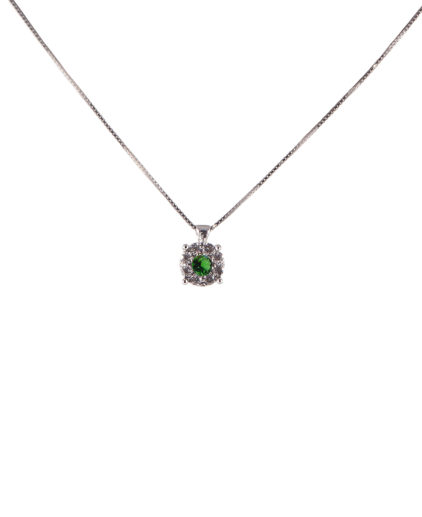 pendente smeraldo e diamanti  plf04s-05-06-07