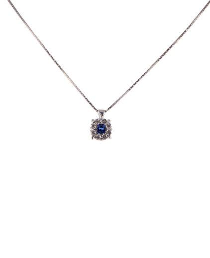 pendente zaffiro e diamanti  plf04z-05-06-07