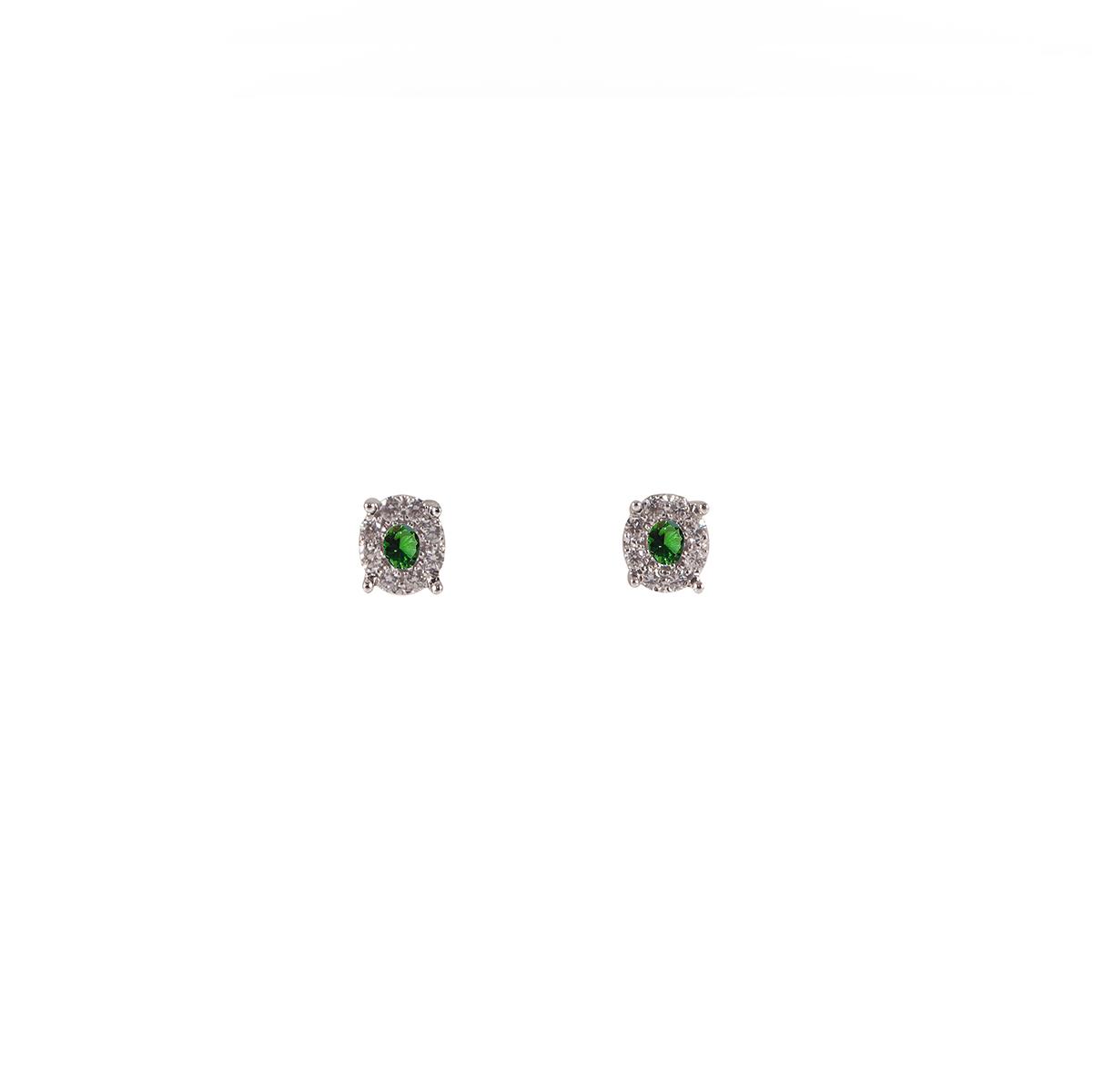 orecchini smeraldi e diamanti  orf04r-05-06-07