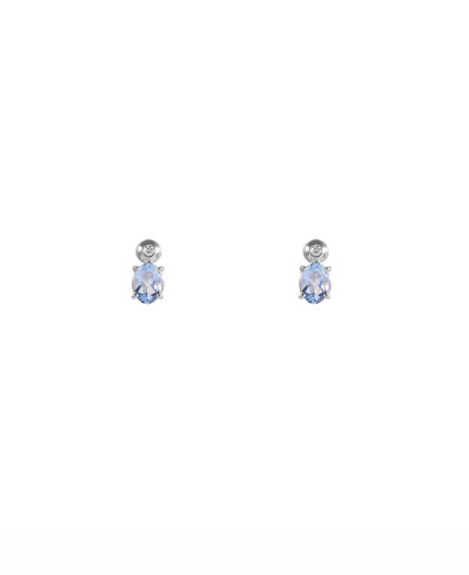 orecchini acquamarina e diamanti oram17