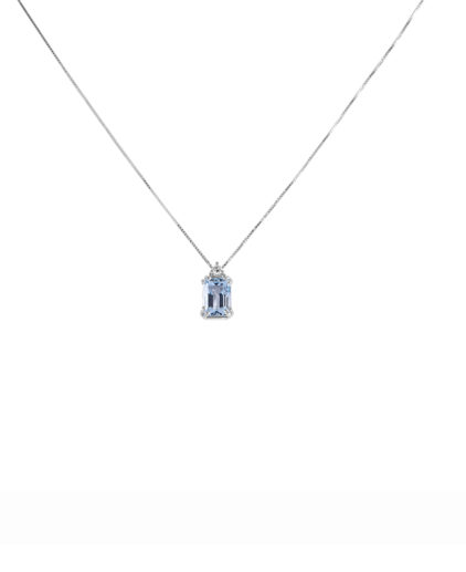 peam8 pendente acquamarina e diamanti