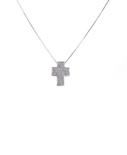 pendente croce diamanti cr003 picc