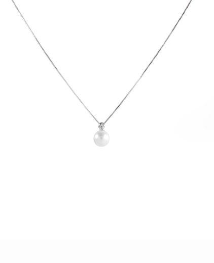 pendente perle e diamanti pe147