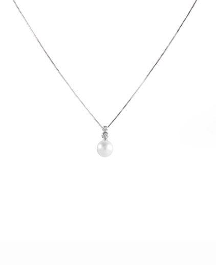 pendente perle e diamanti pe148
