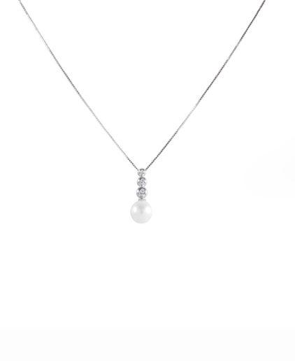 pendente perle e diamanti pe149